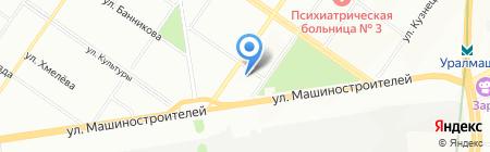 IT-Кудесник на карте Екатеринбурга