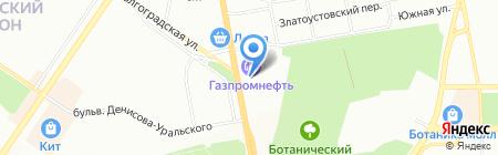Антенна96 на карте Екатеринбурга