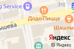 Схема проезда до компании Емца в Екатеринбурге
