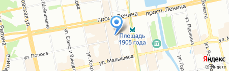 CosmoRoll на карте Екатеринбурга