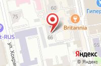 Схема проезда до компании Уральская ассоциация аналитической психологии и психоанализа в Екатеринбурге