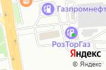 Схема проезда до компании Azuma Parts в Екатеринбурге