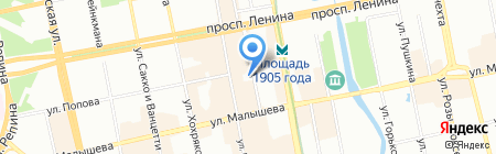 Банкомат БИНБАНК на карте Екатеринбурга