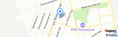 Нефтегазмаш на карте Екатеринбурга