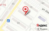 Схема проезда до компании Промышленность и Экология Севера в Екатеринбурге