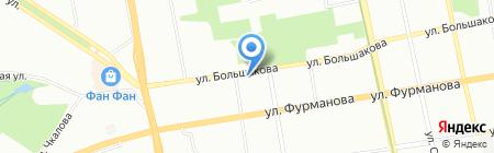 Уралвторсырье на карте Екатеринбурга