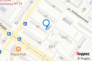 Двухкомнатная квартира в Екатеринбурге м. Проспект Космонавтов, Свердловская область, улица 40-летия Октября, 80, подъезд 1