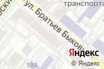 Схема проезда до компании Арлайт66 в Екатеринбурге