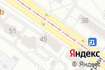 Схема проезда до компании Любимая кухня в Екатеринбурге