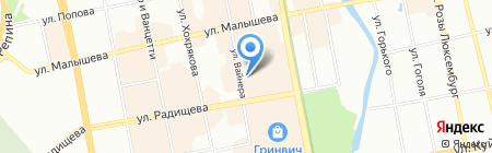 GET на карте Екатеринбурга