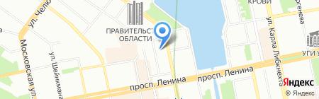 Лифтмонтаж на карте Екатеринбурга