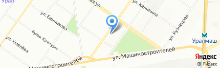 Райский островок на карте Екатеринбурга