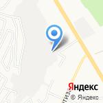 Урал-Хёгфорс на карте Верхней Пышмы