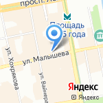 Фантазия на карте Екатеринбурга