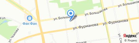Детский сад №386 Знайка на карте Екатеринбурга