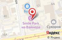Схема проезда до компании Софтстеп в Екатеринбурге