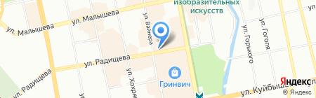 Золотая орхидея на карте Екатеринбурга