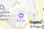 Схема проезда до компании А-ПРОЕКТ в Екатеринбурге