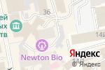 Схема проезда до компании Спэйс в Екатеринбурге