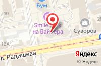 Схема проезда до компании Урал-Дата в Екатеринбурге