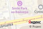 Схема проезда до компании ПризываНет.ру в Екатеринбурге