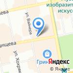 Авто-Шанс на карте Екатеринбурга