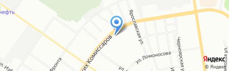 Домашняя Трапеза на карте Екатеринбурга