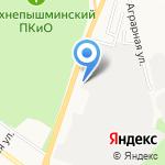 Лесопромышленное предприятие ПиК-Лес на карте Верхней Пышмы