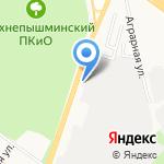 Навигатор на карте Верхней Пышмы
