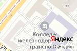 Схема проезда до компании Юниор в Екатеринбурге