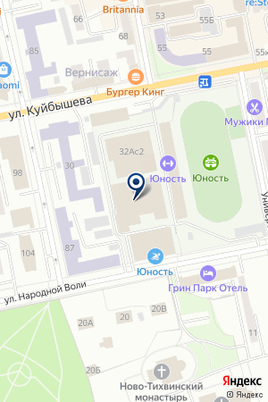 Кунцевич Клуб на карте Екатеринбурга