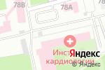 Схема проезда до компании Центр скандинавской ходьбы в Екатеринбурге