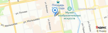 TEZ TOUR на карте Екатеринбурга