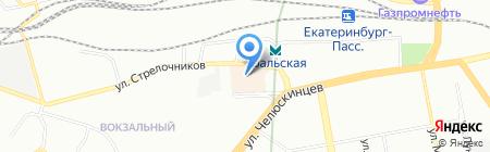 АльфаТонировка на карте Екатеринбурга