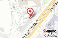 Схема проезда до компании Производственное обьединение  в Екатеринбурге