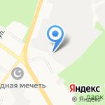 Ветеринарная станция на карте Верхней Пышмы