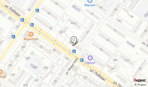 Поспелов. Схема проезда в Екатеринбурге