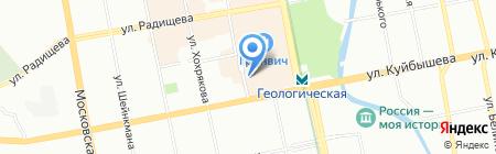 Стандарт96 на карте Екатеринбурга