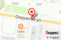 Схема проезда до компании Байкал в Екатеринбурге