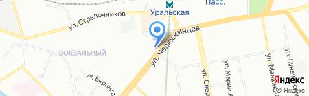 Компаньон консалт на карте Екатеринбурга