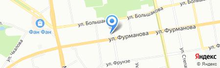 Снегоуборщик на карте Екатеринбурга
