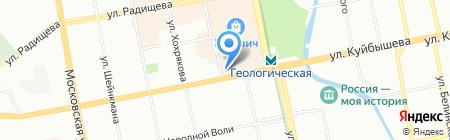 Департамент по недропользованию по Уральскому федеральному округу на карте Екатеринбурга