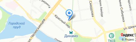 УралКонтинент-Транс на карте Екатеринбурга