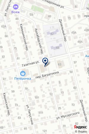 РЭМП УЖСК на карте Екатеринбурга