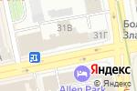 Схема проезда до компании Кейтеринбург в Екатеринбурге