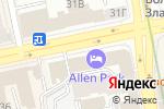 Схема проезда до компании Спорттовары в Екатеринбурге