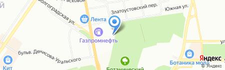 УСТК ЮРАН на карте Екатеринбурга