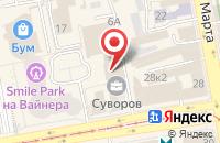 Схема проезда до компании Система Профит в Екатеринбурге