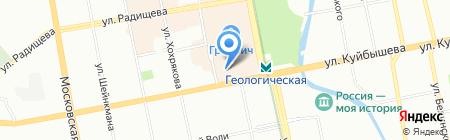 Красивый Дом на карте Екатеринбурга