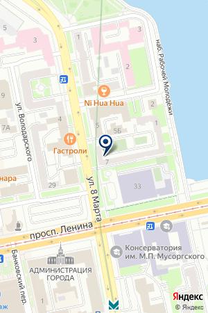 Сауна Резиденция на карте Екатеринбурга